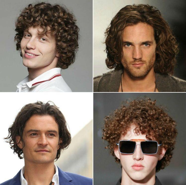 Ideen Für Wellen Locken Frisuren Für Männer Und Tipps Zum Stylen