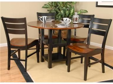 Shop For Ligo Products 40 Inches Round Table With Two 10 Inches Drop Leaf,  ACK