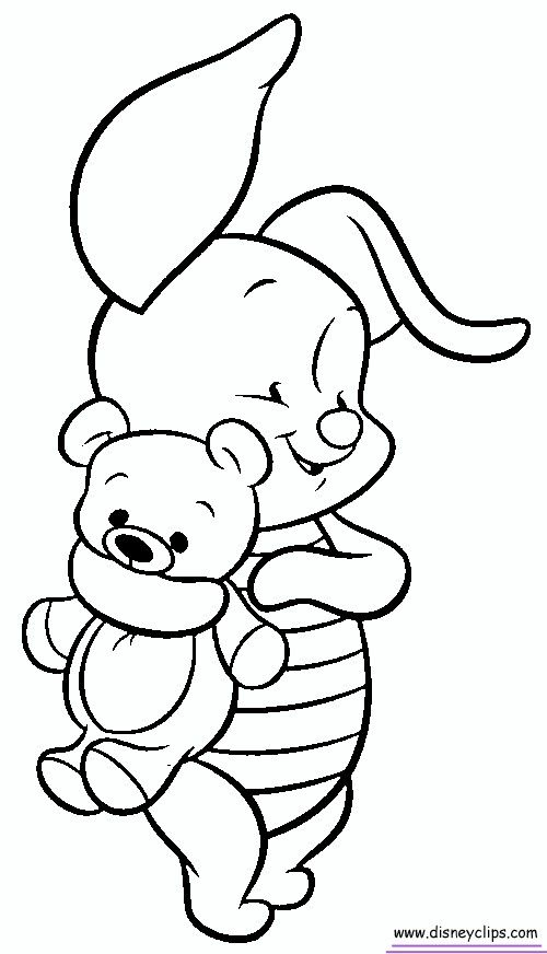 piglet coloring pages - photo#25