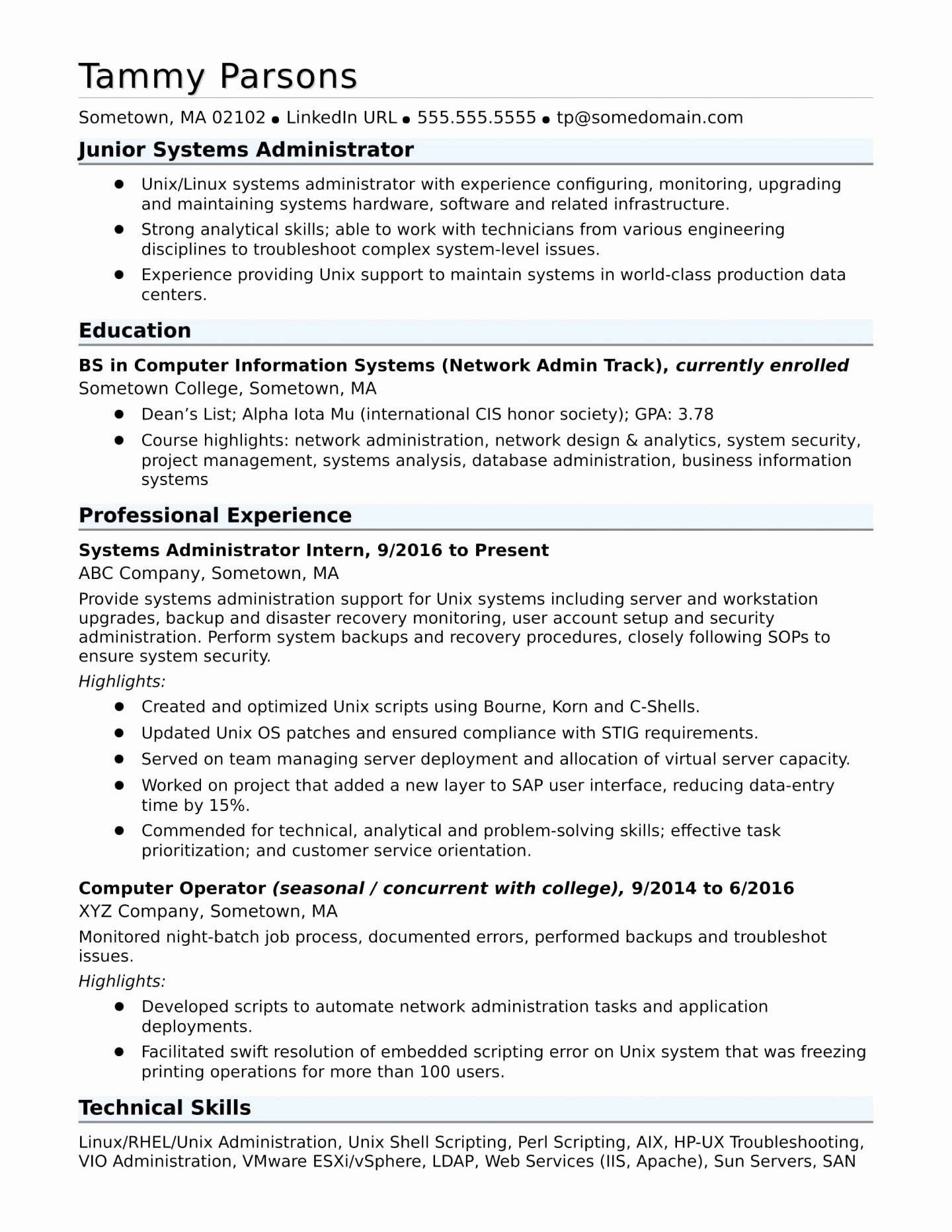 Administrative Skills For Resume Inspirational Best Network Administrator Skills Resume Resume Skills Job Resume Examples Resume Examples