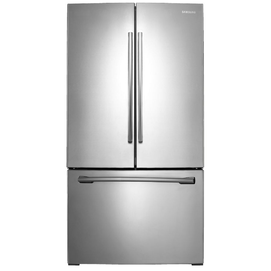 doors box new steel kitchenaid dent scratch stainless shop out door french of and refrigerator