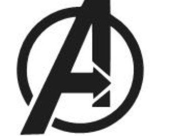 Souvent AVENGERS Logo Vinyl Decal Sticker MARVEL Ironman Hulk Laptop  TC83