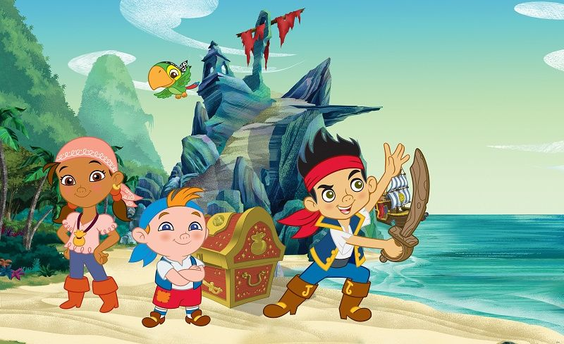 Disney Jake Pirate Character Wallpaper For Boys Girls Room Part 74