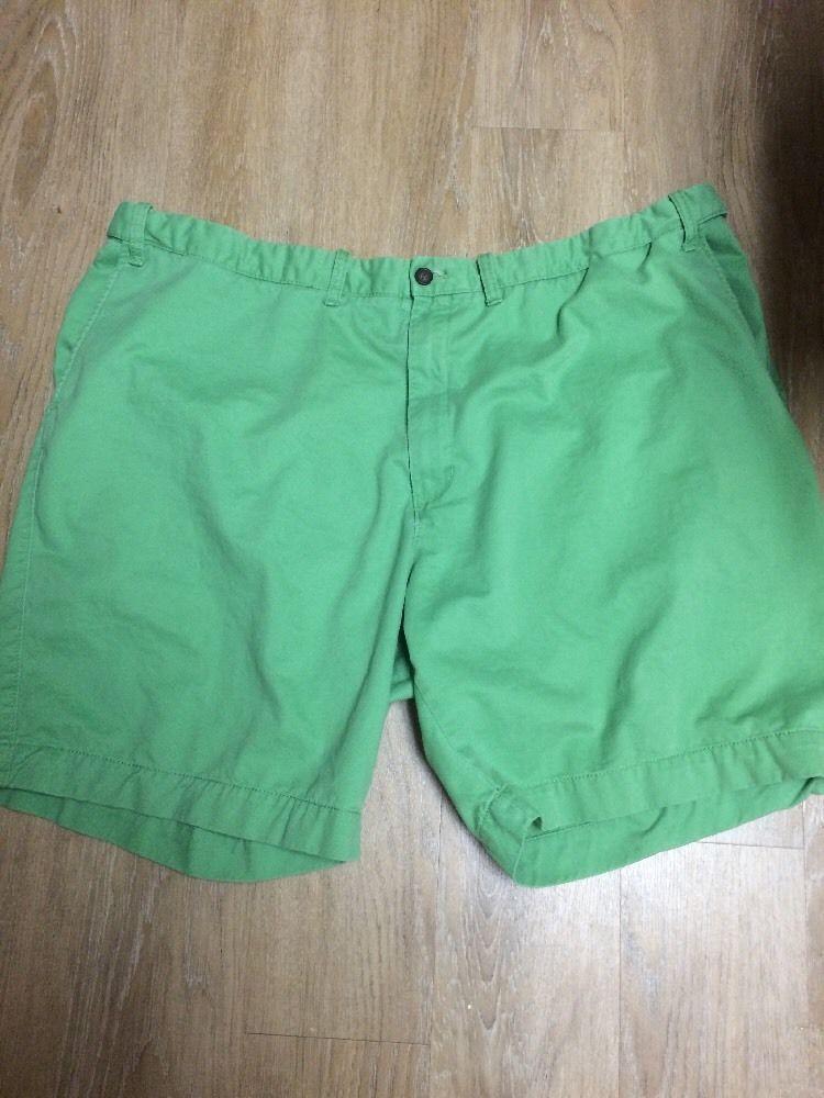 Izod Saltwater Men's Shorts Size 52 Green Khaki Chinos #IZOD #KhakisChinos
