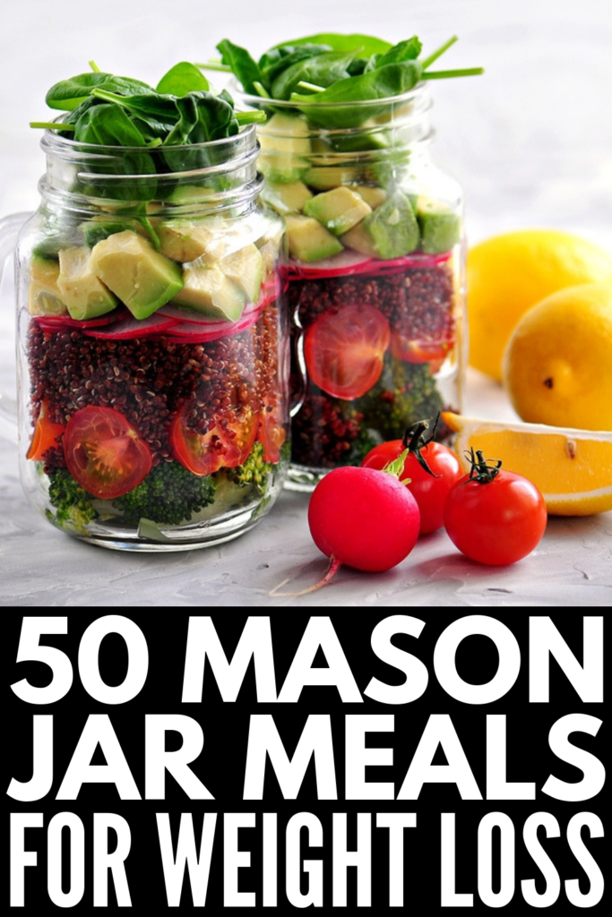 Meal Prep Sundays: 50 Packable Mason Jar Meals for Weight Loss images