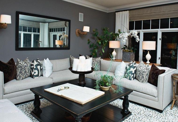 Como pintar el salon de casa como pintar un salon moderno - Como pintar un salon rustico ...