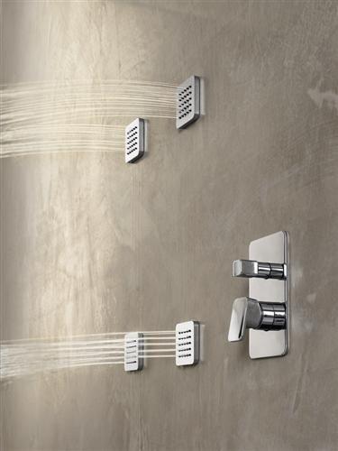 Doccia loop di nobili rubinetterie confort da spa nel - Nobili rubinetterie bagno ...