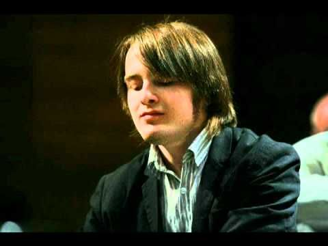 "Audio: Daniil Trifonov playing favorite encore pieces (Houston Public Radio, 22.02.2012). Schubert-Liszt ""Die Forelle""  03.21 - Schumann-Liszt ""Widmung""   06.51 - Paganini-Liszt ""La Campanella""  11.44 - Mussorgsky-Rachmaninov-Trifonov ""Hopak"" from ""Sorochintsy Fair"""