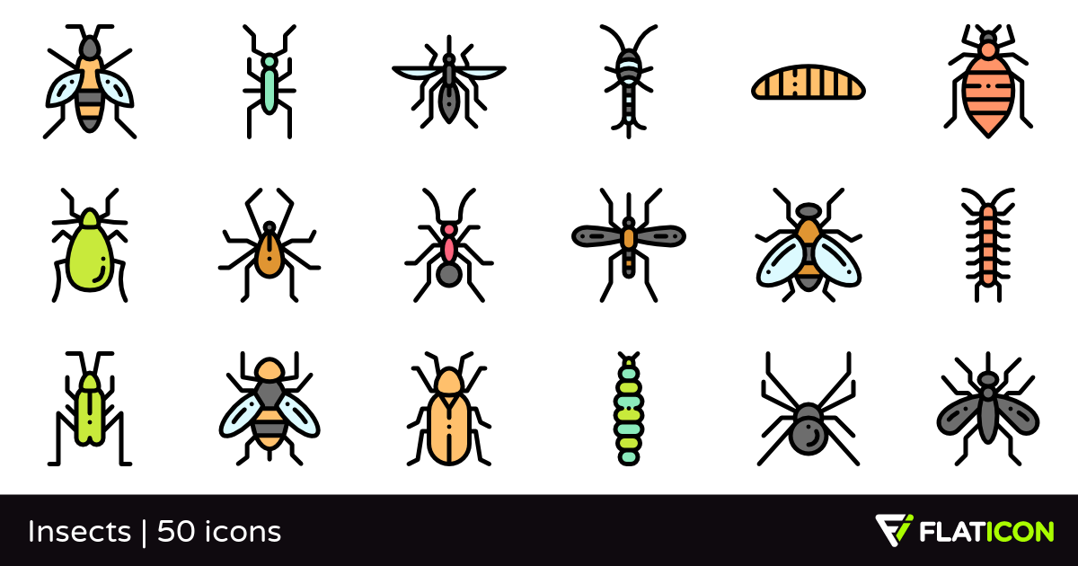 50 free vector icons of Insects designed by Freepik
