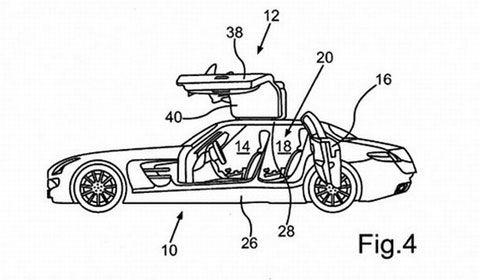 Mercedes SLS AMG Four-Door Patented