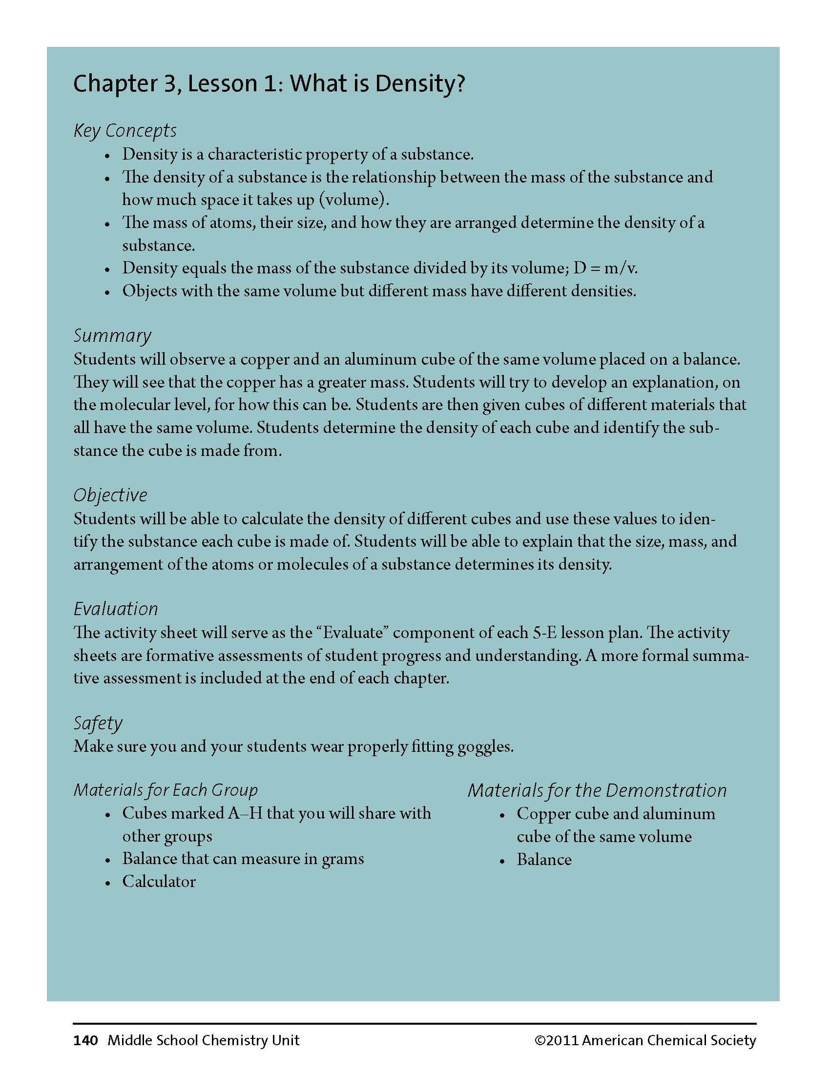 worksheet. Density Worksheet Middle School. Worksheet Fun Worksheet ...