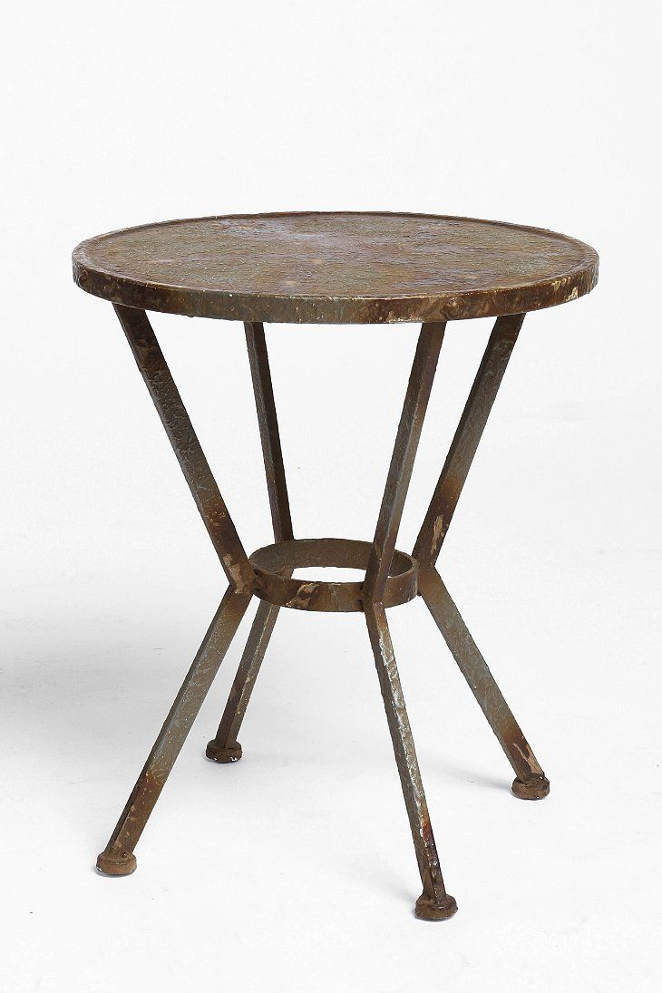 James Metal Side Table | Metal side table, Flats and College flats
