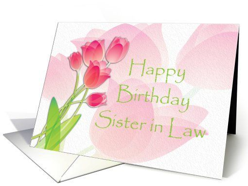 Birthday Cards For Sister In Law ~ Happy birthday to my sister in law card car memes happy