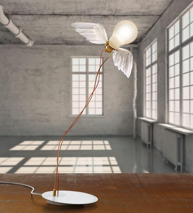 What We Do Counts The Comical Lighting Design Of Ingo Maurer Lamp Design Table Lamp Design Modern Table Lamp Design
