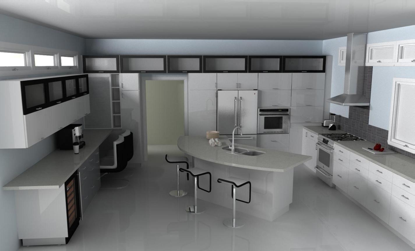 Stunning Ultra Modern Kitchen Island Design Ideas Craft And Home