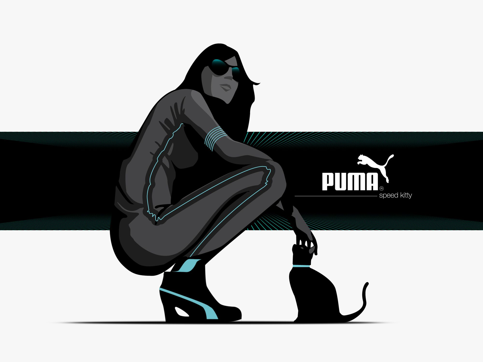 Speed-Kitty concept illustration by Adam Nagy
