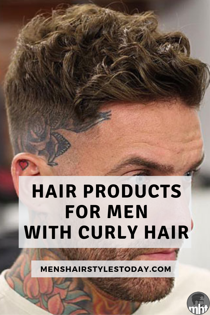 15 Best Hair Products For Curly Hair Men (2020 Guide