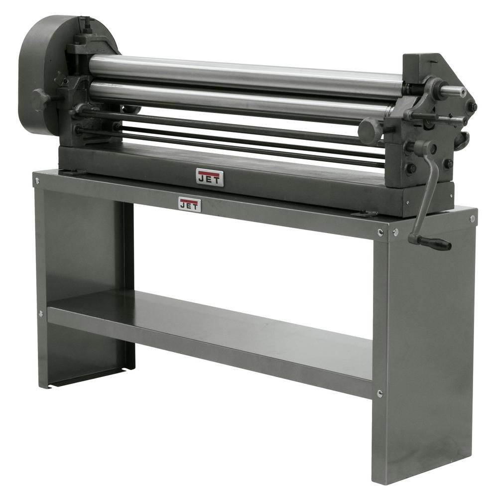 Jet Sr 1650m 50 In X 16 In Slip Roll Bench Model Sheet Metal Roller Woodworking Planer Metal Forming