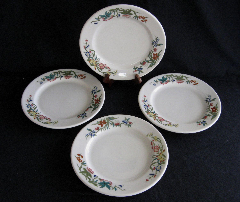 Syracuse China 9 1/2\  \ Bombay\  Restaurant Hotel Plates (Set of & Syracuse China 9 1/2\