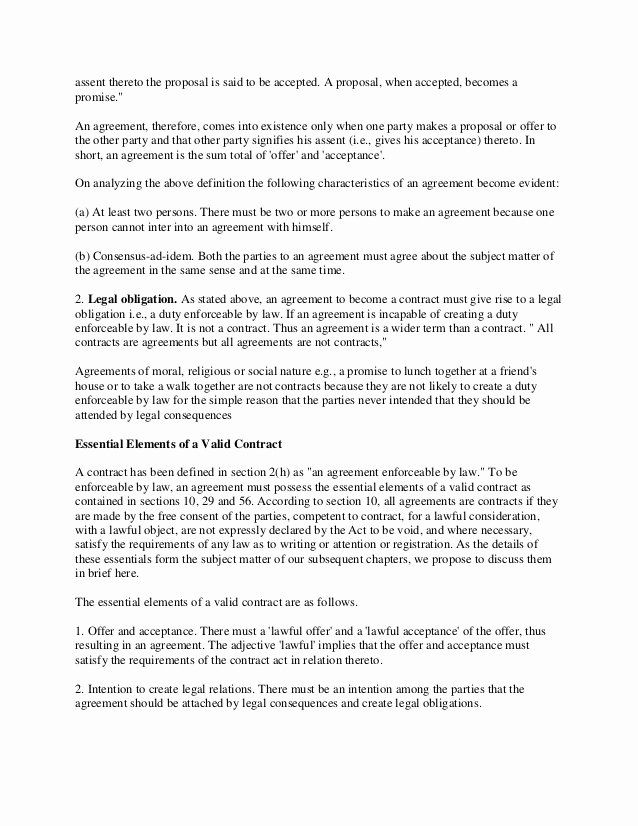 Legal Binding Contract Template Elegant A Contract Is A Legally Binding Agreement Or Relationshi Contract Template Relationship Contract Letter After Interview