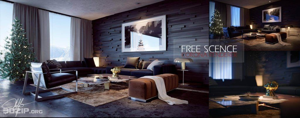 Free 3d Interior Scenes File 3dsmax Share 24 With Images