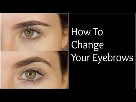 DIY: How To Change The Shape Of Your Eyebrows | MeMyMouse1