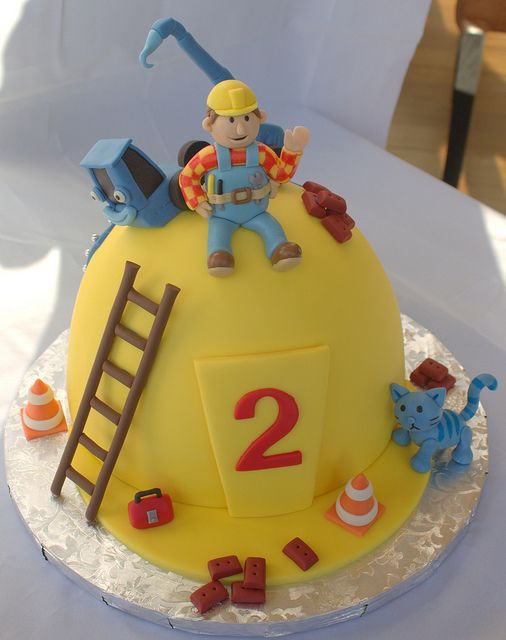 Wondrous Bob The Builder Birthday Cake With Images Bob The Builder Cake Funny Birthday Cards Online Elaedamsfinfo