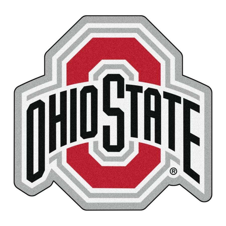 Fanmats Ohio State Buckeyes Ncaa Mascot Mat 3 X 3 Red Irregular Indoor Area Rug Lowes Com In 2020 Ohio State Logo Ohio State Buckeyes Football Ohio State Football