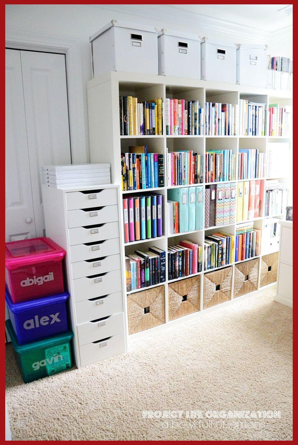 How To Save Money In Buying Office Supplies In 2020 Craft Room Storage Bookshelf Organization Home Organization