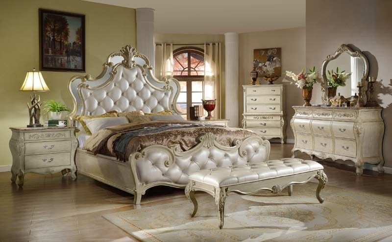 Mcferran Home Furnishings  B8303 6 Piece California King Bedroom Beauteous Cal King Bedroom Sets Design Ideas