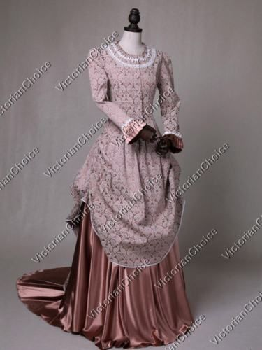 379b689f96 Victorian Costumes  Bustle Dress Theater Halloween Costume 131