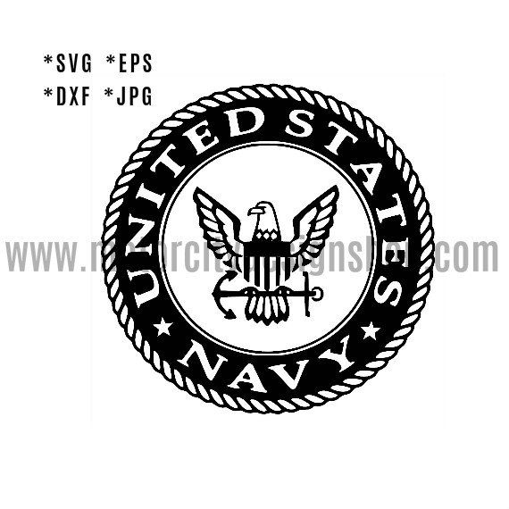 us navy svg eps dxf jpeg format vector design by