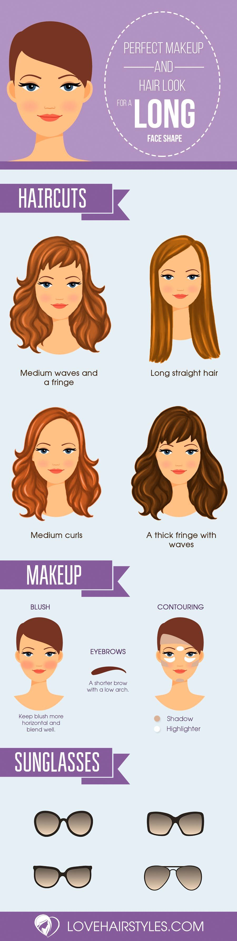 15 gorgeous haircuts for long faces | clothes and