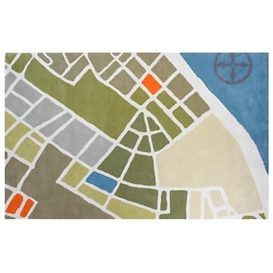 Land Of Nod S Flyover Rug How Cute For An Airplane Or