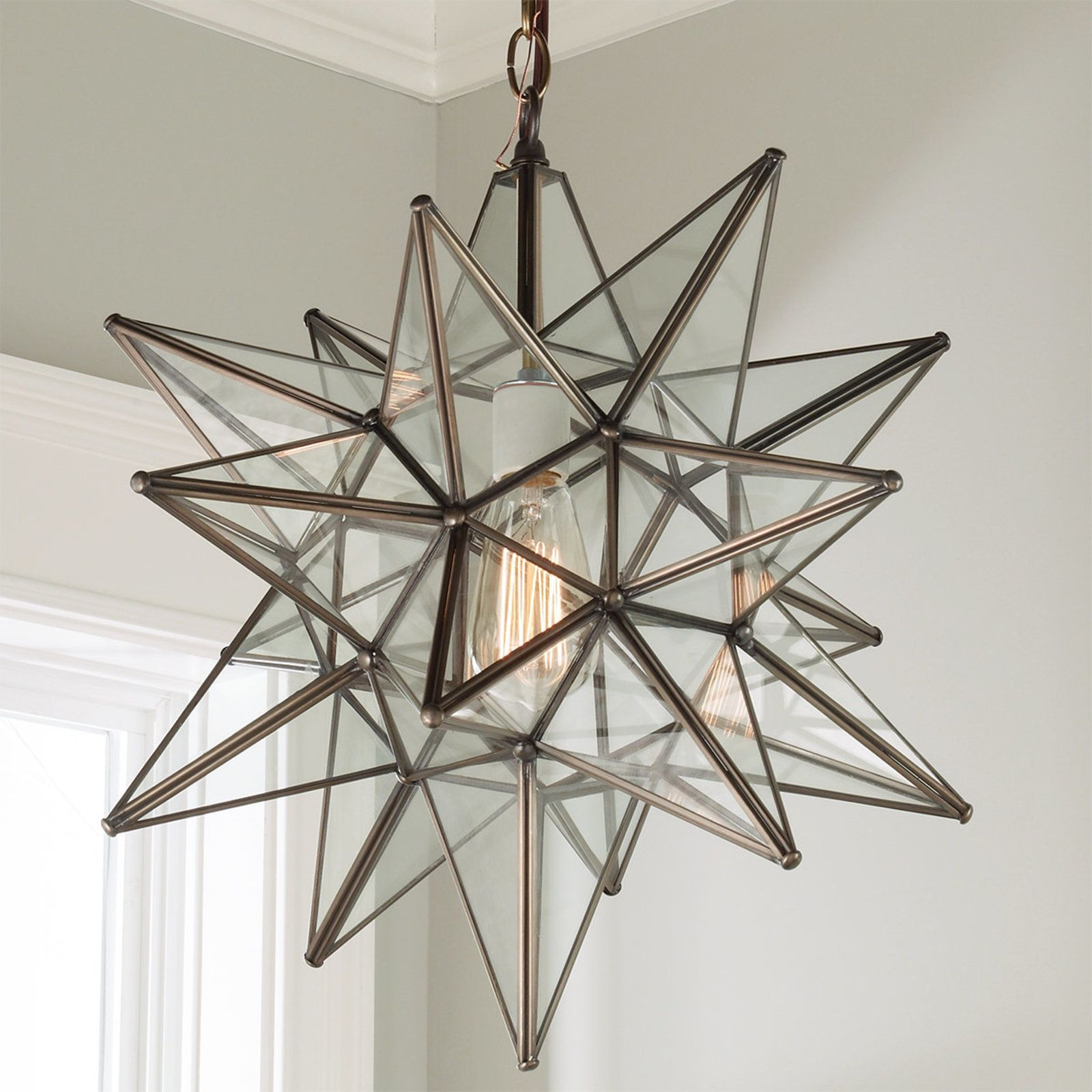 moravian f mirror inch aged glass cfm comfort chapman star and in antique light wide visual item shown iron lighting e finish
