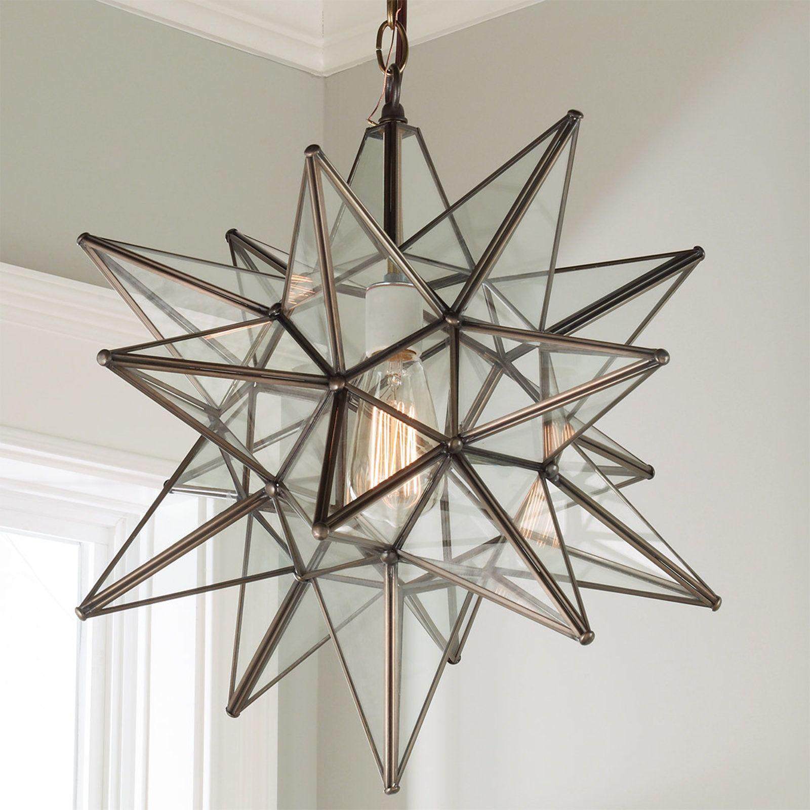 moravian light lamp world glass lighting star wonderfull of pendant crystal unique luxury modern