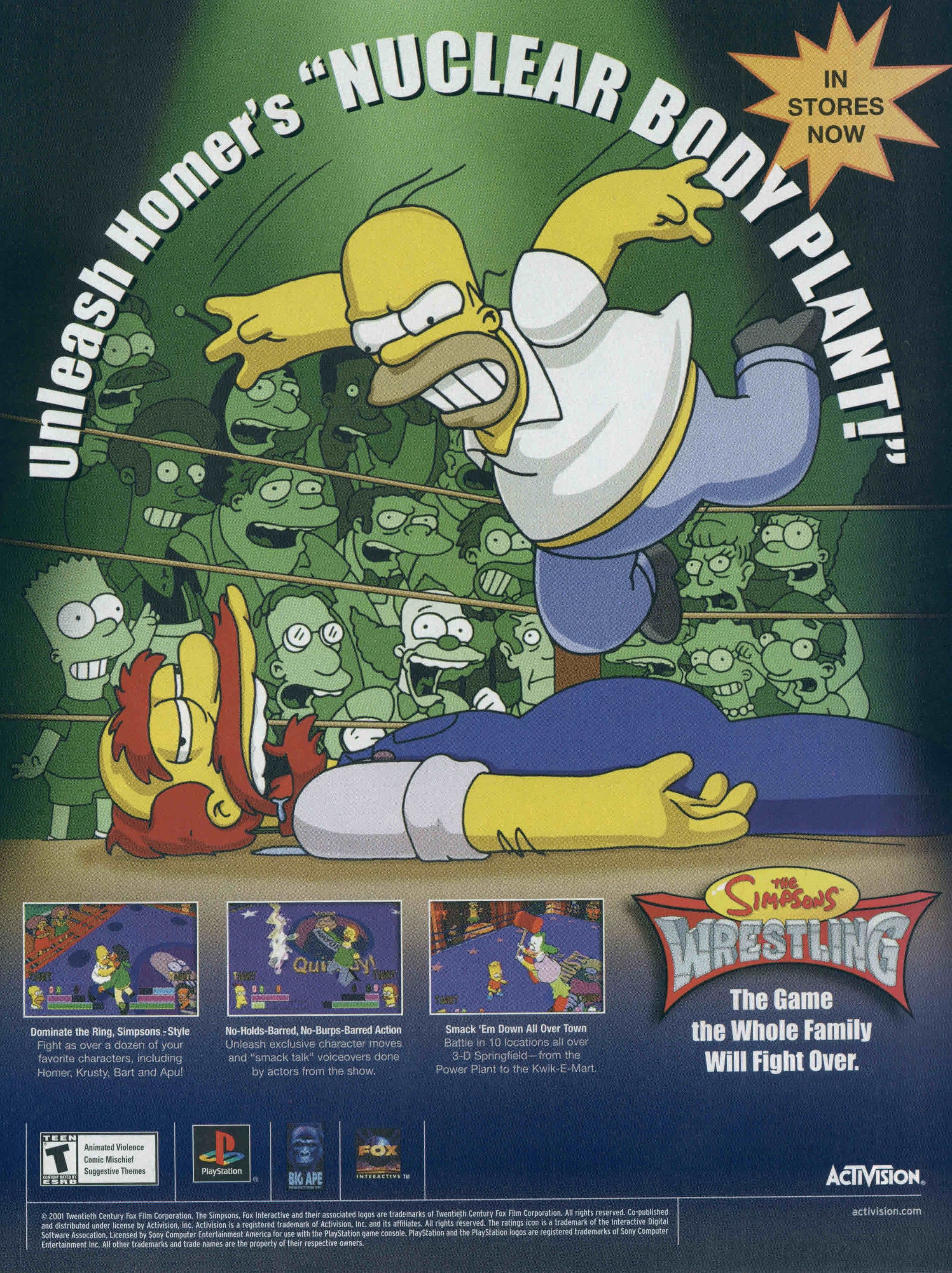 Simpson Wrestling Classic video games, Video game music