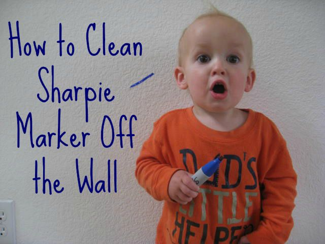 How To Get Sharpie Marker Off The Wall Blissfully Domestic Sharpie Marker How To Remove Sharpie Cleaning