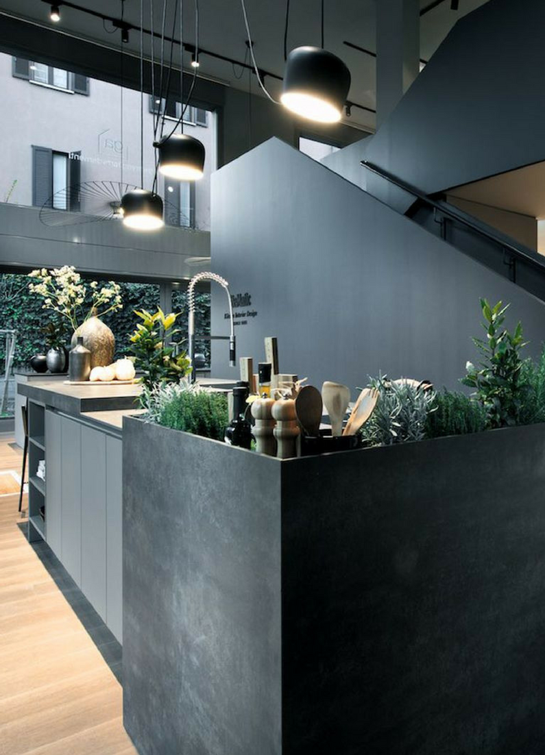 schwarze küche: bilder & ideen für dunkle küchen
