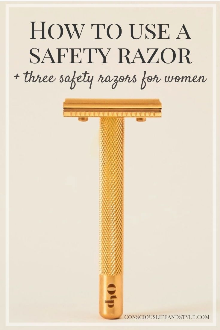 How to use a safety razor plus three safety razors for