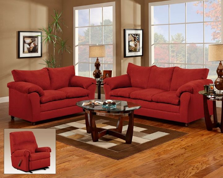 but i\'ve always wanted a red sofa!!!! always. | Home | Living Room ...