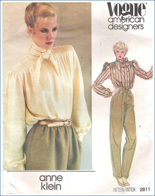 Uncut Vintage Vogue Pattern 70s Sewing 2611 American Designers Anne ...