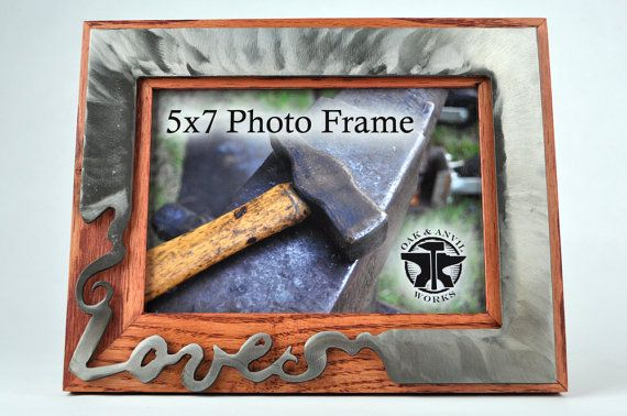Free Standing Picture Frame Intended For 5x7 Photos Solid Reclaimed