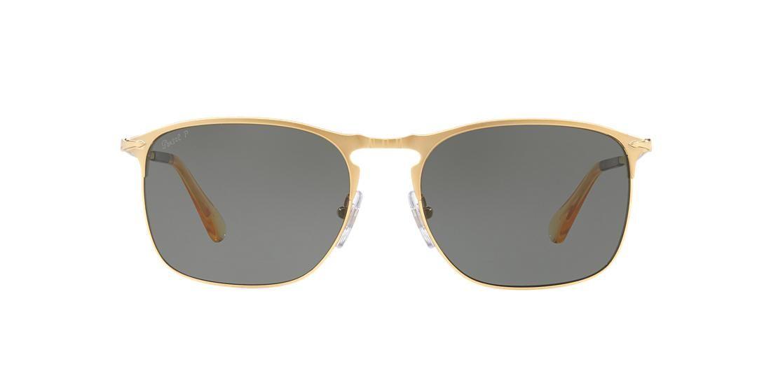 6b5d3ff1b7a4 Persol PO7359S 58 Green   Gold Polarized Sunglasses