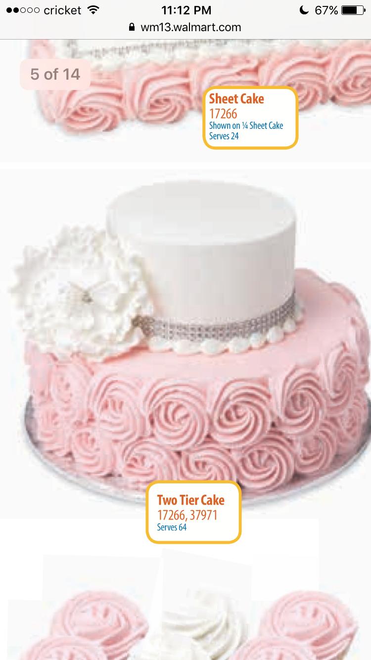 Walmart Bakery Cakes Pdf