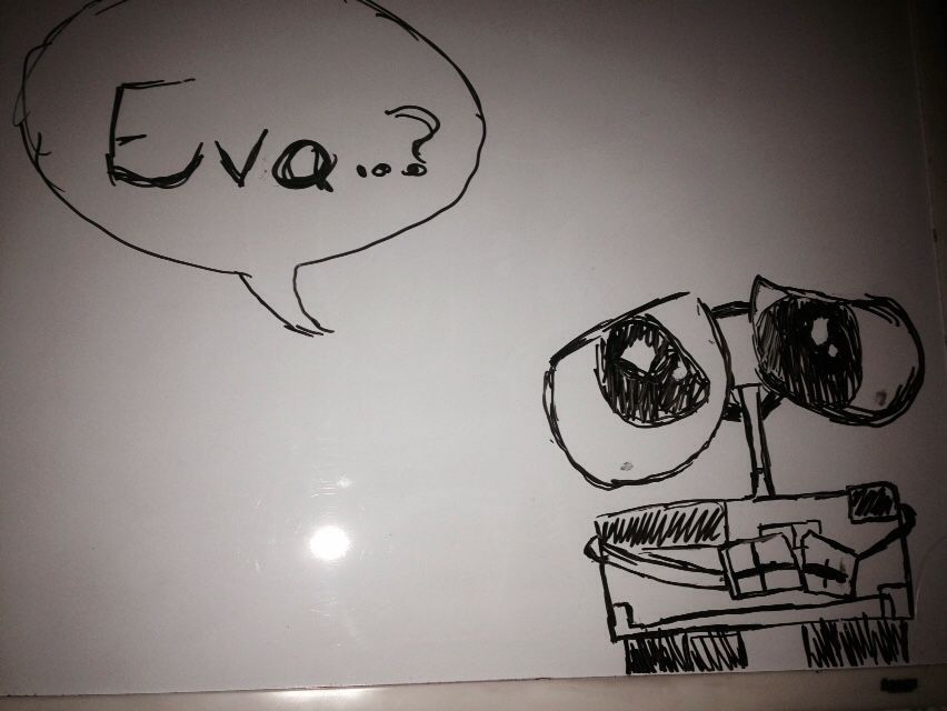 whiteboard drawing wall e edition college gah