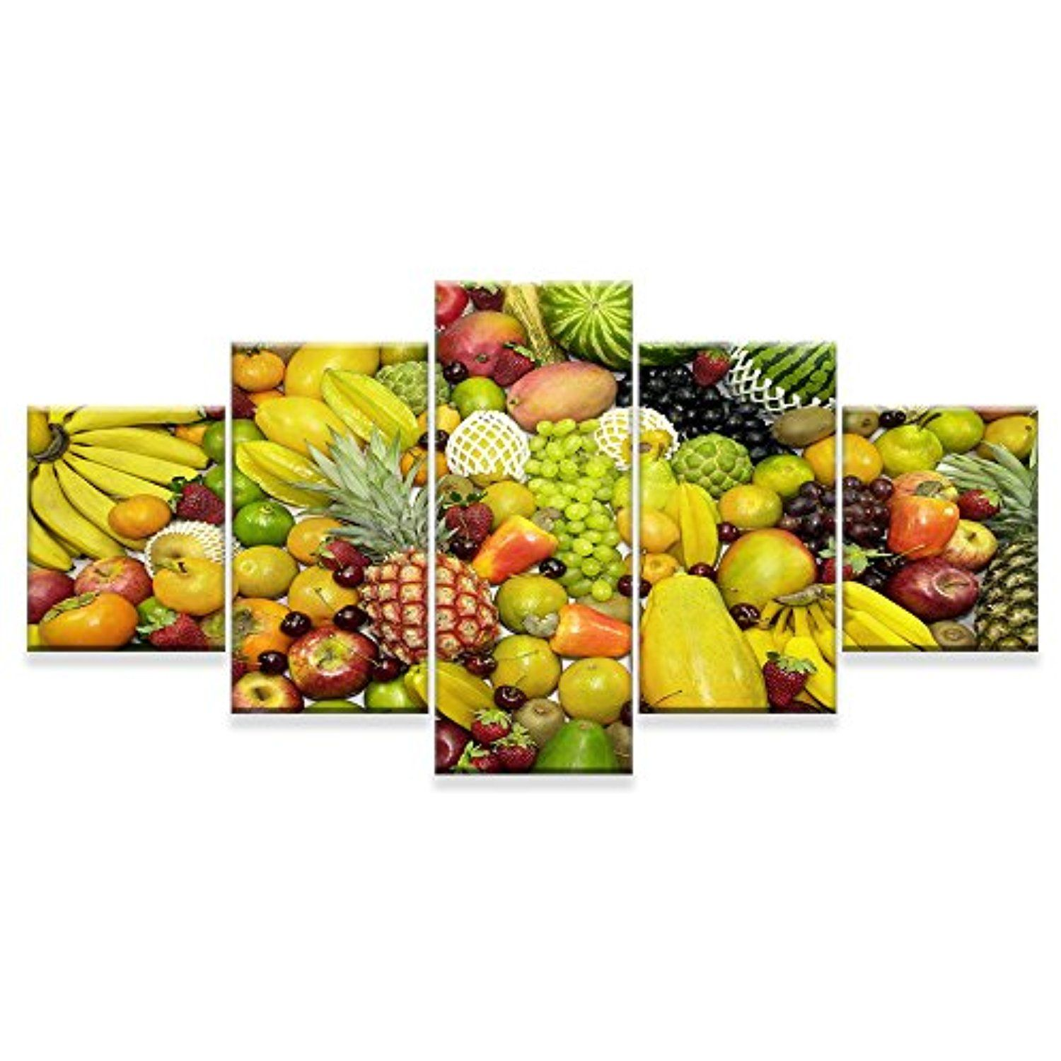 Premium Quality Canvas Printed Wall Art Poster 5 Pieces / 5 Pannel ...