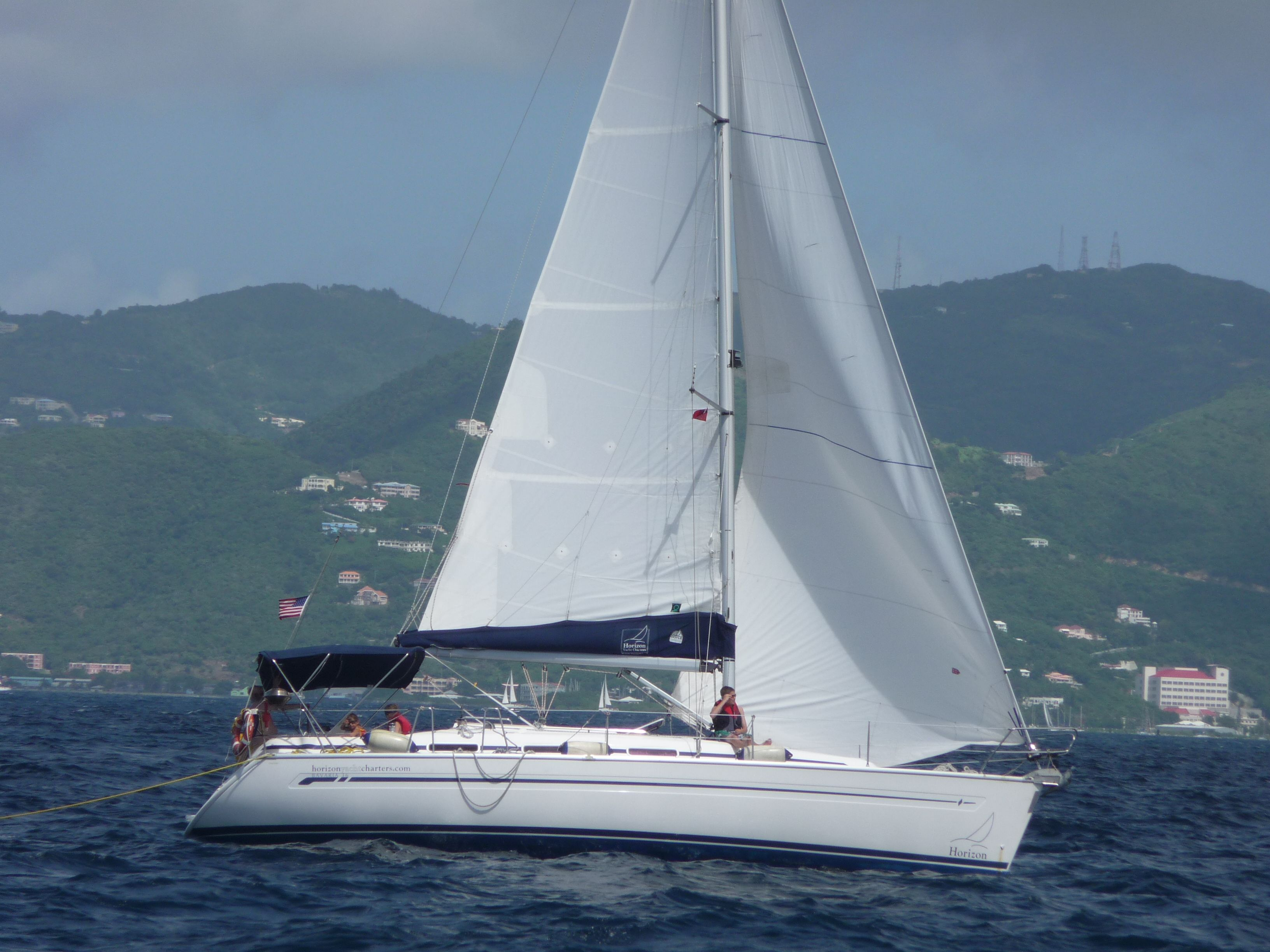 All About Yacht Charters, Sailing Vacations: Cap II : New