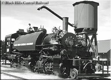 The Black Hills Central Railroad's signature ride during the summer season is called the 1880 Train, which runs the entire length of the line between Hill City and Keystone passing through and along the beautiful hills and canyons of the Black Hills Mountains