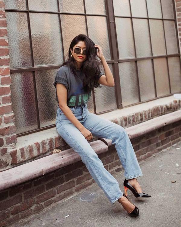 актуальные фасоны джинсов 2021